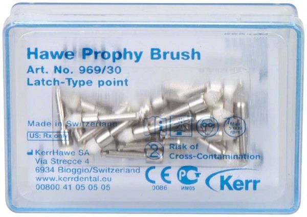 Prophy Brush Latch-Type