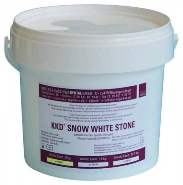 KKD® Snow White Stone Superhartgips